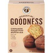 King Arthur Baking Company Essential Goodness Cinnamon Sugar Puff Muffin Mix