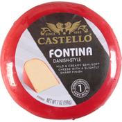 Castello Cheese, Fontina, Danish-Style, Very Mild
