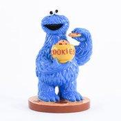 Penn-Plax Medium Sesame Street Cookie Monster Aquarium Decor