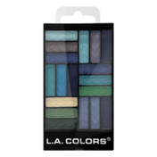 L.A. Colors Glam Palette 18 Color Eyeshadow CES751 - Shady Lady