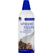 Food Lion Whipped Topping, Sweetened, Extra Creamy