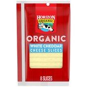 Horizon Organic Sliced White Cheddar Cheese