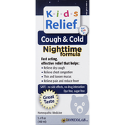 Kids Relief Cough & Cold, Nighttime Formula