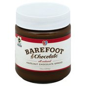 Barefoot & Chocolate Chocolate Spread, Hazelnut