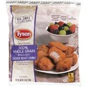 Tyson Naturals® 100% Whole Grain Breaded Chicken Breast Chunks, 48 oz. (Frozen)