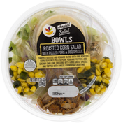 Ahold Salad Bowls, Roasted Corn Salad with Pulled Pork & BBQ Drizzle, Chopped