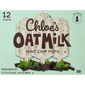 Chloes Oatmilk Pops, Mint Chip