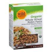 Wild Harvest Rotini Pasta, Organic, Whole Wheat