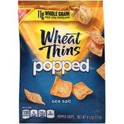 Wheat Thins Sea Salt Wheat Thins Popped