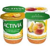 Activia Fruit on the Bottom Peach & Mango Yogurt