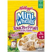 Kellogg's Frosted Mini-Wheats Touch of Fruit Raisin Cereal