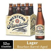 Western Standard Saloon Lager Craft Beer Bottles