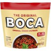 Boca Original Vegan Veggie Crumbles with Non-GMO Soy
