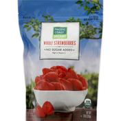 Pacific Coast Strawberries, Organic, Whole
