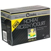 Crowley Nonfat Frozen Yogurt, Vanilla
