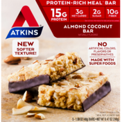 Atkins Almond Coconut Meal Replacement Bars