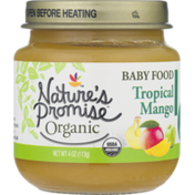 Nature's Promise Organic Baby Food Tropical Mango 6m+