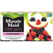 Minute Maid Mixed Berry Juice 100 Cartons