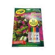 Crayola Coloring & Activity Pad, Nickelodeon Teenage Mutant Ninja Turtles
