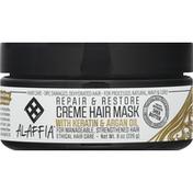 Alaffia Creme Hair Mask, Repair & Restore