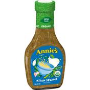 Annie's Asian Sesame Salad Dressing, Certified Organic, Non-GMO