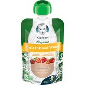 Gerber Organic Strawberry Fruit Infused Water