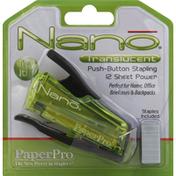 PaperPro Stapler, Translucent