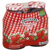 Smucker's Jam, Strawberry, Twin Pack