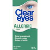 Clear Eyes (CN)  Allergie Collyre,  Allergy Eye Drops
