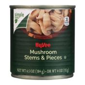 Hy-Vee Mushroom Stems & Pieces
