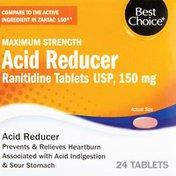 Best Choice Maximum Strength Acid Reducer Tablets