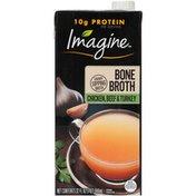 Imagine Chicken, Beef & Turkey Bone Broth