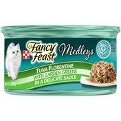 Fancy Feast Elegant Medleys Tuna Florentine Wet Cat Food