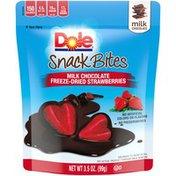 Dole Snack Bites Milk Chocolate Freeze-Dried Strawberries