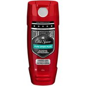 Old Spice Hardest Working Collection Dirt Destroyer Body Wash Pure Sport Plus Scent 16 Fl