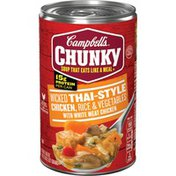 Campbell's® Chunky® Thai-Style Chicken with Rice & Vegetables Soup
