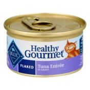 Blue Buffalo Healthy Gourmet Cat Food Flaked Tuna Entree in Gravy