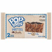 Kellogg's Pop-Tarts Pretzel Toaster Pastries, Breakfast Foods, Baked in the USA, Chocolate Drizzle