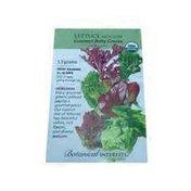 Botanical Interests Gourmet Baby Organic Mesclun Lettuce
