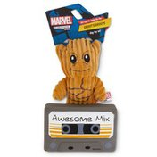"""Marvel 4"""" Groot Mix Tape Dog Toy"""