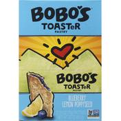 Bobo's Toaster Pastry, Blueberry Lemon Poppyseed