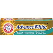 Arm & Hammer Advance White Fluoride Tartar Control Baking Soda & Frosted Mint Advance White Toothpaste