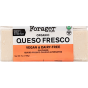 Forager Project Cheese Alternative, Organic, Vegan & Dairy-Free, Queso Fresco