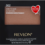 Revlon Powder Blush, Shimmer, Dare to Bare 002