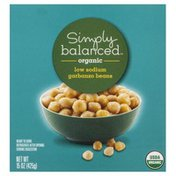 Simply Balanced Garbanzo Beans, Low Sodium, Organic