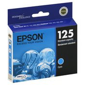 Epson Ink Cartridge, Standard-Capacity, Cyan 125, T125220