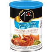 4C Foods Seasoned Gluten Free 4C Gluten Free Seasoned Crumbs