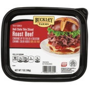 Buckley Farms Fully Cooked Deli Style Thin Sliced Roast Beef