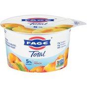 FAGE Total Greek Strained Yogurt with Peach