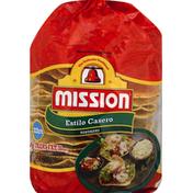 Mission Estilo Casero Tostadas